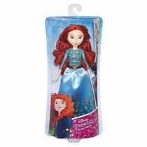 Boneca Princesas Disney Clássica Mérida Valente - Hasbro Nf