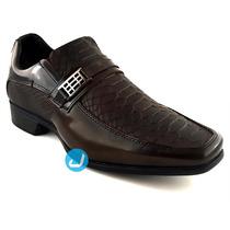 Sapatos Masculinos Sociais Verniz Envernizado Couro Legitimo