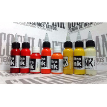 Tinta Tattoo Ultra Ink Gama Color Nº3 X 1oz Tatuajes Tatuar