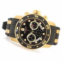 Relogio Invicta Pro Diver 6981/ 21928 - Ouro 18k