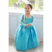 Vestidos Anna Elsa Frozen Niña Princesas Disney Envio Gratis