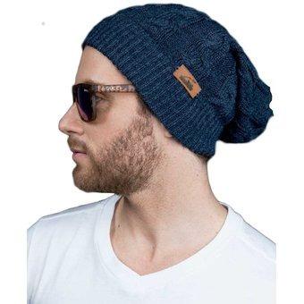 173befef62f1b Gorro En Lana Para Hombre Outfit Urban Azul -   55.860 en Mercado Libre
