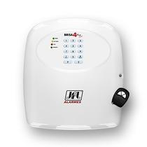 Central Alarme Convencional Jfl Brisa4 Plus Discadora Voz