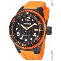 Relógio Magnum Masculino Ma34021j 2 Anos De Garantia