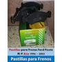 Pastilla Para Frenos Ford Fiesta M/v Año 1996/ 2003 Nnuevos