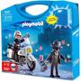 Playmobil 5891 Maleta Maletin Policia Y Ladron Villa Urquiza