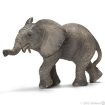 Figura De Elefante Africano Schleich Vida Salvaje