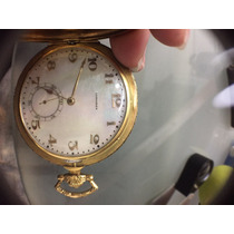Reloj Vintage Longines Grands Prix Oro 18k Caratula Perla