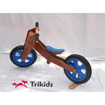Bicicleta De Madera De Aprendizaje Sin Pedales - Camicleta
