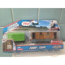 Locomotora Con Vagon Motorizada Toby Trackmaster Thomas