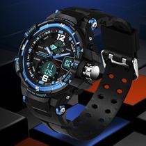 Relógio Esportivo Masculino Militar Samoa Quartzprova D
