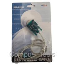 Cable Adaptador Rs232 Serial A Usb 2.0 Macho Nuevo