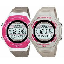 Relógio Casio Feminino Digital Rosa Tough Solar! Promoção!