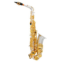 Sax Alto Zion By Plander As200sl Prateado, Chaves Laqueadas