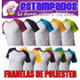 Franelas Sublimacion Mayor Y Detal