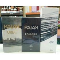 Kit 3 Perfumes Natura Masc. Kaiak Urbe, Pulso, Amó.