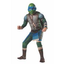 Disfraz De Leonardo Tortugas Ninja Movie P/ Niño