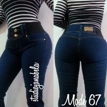 Jeans Pantalon De Dama Strech