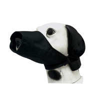 Focinheira Em Nylon Para Cães Cachorros Regulável N1