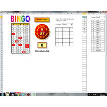 Bingo Excel Familiar