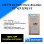 Frente De Portero Eléctrico Netyer Serie Ve Conexión 6 Hilos