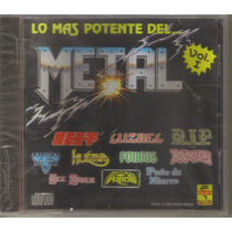 Lo Mas Potente Del Metal - Vol. 1 ( Metal Mexicano ) Cd Rock
