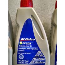 Prom Cambio De Aceite Acdelco Sintetico 5w30 Dexos Chevrolet