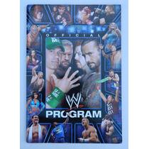 Programa Oficial De La Wwe Rey Mysterio Cena Triple H Rock