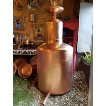 Alambique Destilador De 500 Lts En Cobre