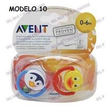 Chupete Avent X 2 Muchos Modelos - Del Mar Y Otros Cuentos