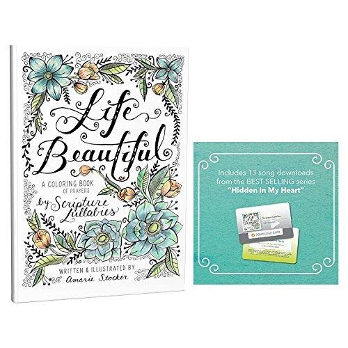 Vida Hermoso, Un Cristiano Para Colorear Libro De Oraciones