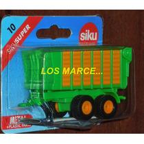 Siku Serie 10 Trailer Coleccion Tractor