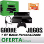 Xbox One 500gb + Jogo + Kinect + Headset + 2 Controles