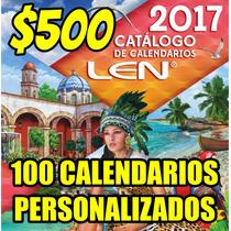 100 Calendarios Personalizados Publicitarios