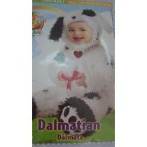 Fantasia Infantil Dálmata 1 Ano Original Comprada Usa Linda