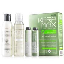 Keramax Bio Blindagem - Kit Para Escova Com Bio Queratina Ve