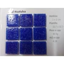 Mosaico Veneciano Azul Huatulco Para Albercas 2 X 2