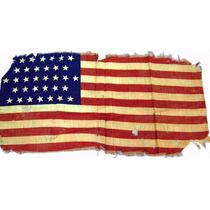 Lienzo Tela Bandera Antigua Estados Unidos 34 Estrellas 1861