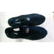 Zapatos Surfistas En Tela De Buzo Playero Acuatico Tienda