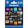 Tarjeta Gift Card Facebook $25 Usd Juegos Apps Android Apple