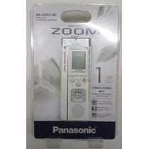 Gravador Panasonic Voz Digital Microfone Zoom 266 Horas Nfe