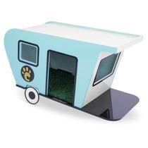 Trailer Para Cachorros Pequeno Porte Azul 7007 - Carlu