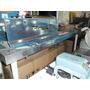 Mesa De Trabajo Nueva Tapa Inox Estante Patas Hierro 190x70