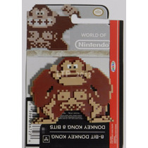 Boneco World Of Nintendo - 8-bit Donkey Kong - Jakks Pacific