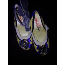 Sandalias Para Niña Blanca Nieves Zapatillas Disney Store