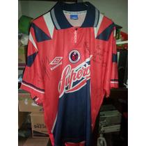 Jersey Playera Tiburones Rojos Veracruz 1995-1996 Utileria