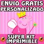 Kit Imprimible Peppa Pig Hada Personalizado Gratis Candy Bar