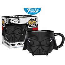Taza Ceramica Mug Darth Vader Funko Pop Pelicula Star Wars