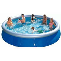 Piscina Intex 3.05 X 76 Cm Con Borde Inflable