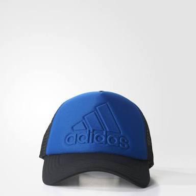 Gorra adidas Trucker Logo Azul Rey -   479.00 en Mercado Libre 335b2e52ca6